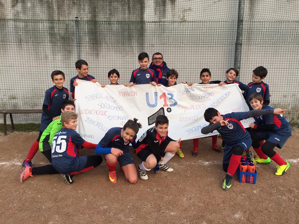 Calendario Csi Milano.Calcio A 7 Under 13 I Classificati Girone A Campionato